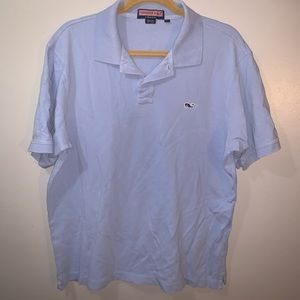 Vineyard vines blue polo large